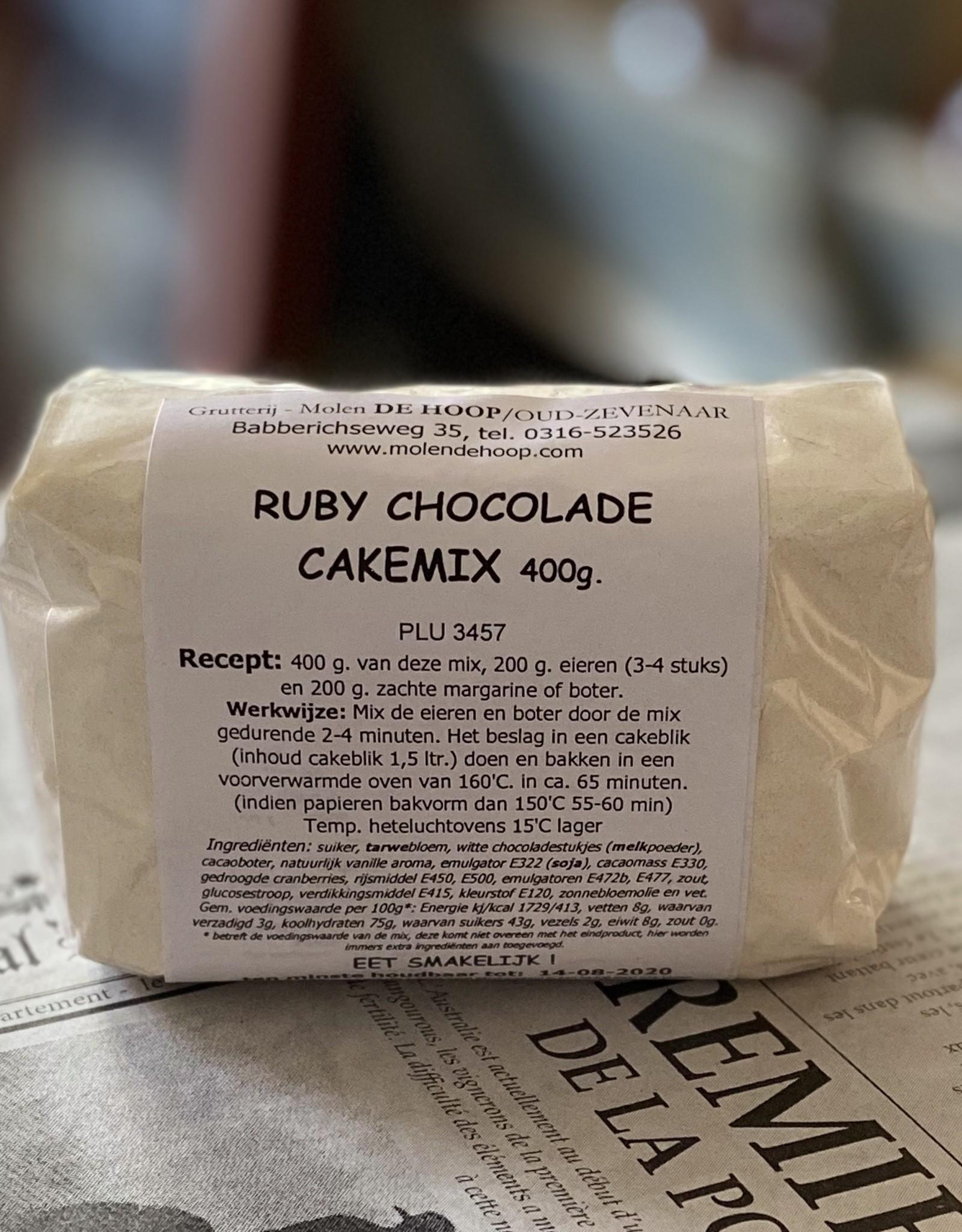 Grutterij Molen de Hoop Ruby Chocolate Cakemix