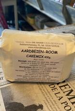 Aardbeien-room cakemix