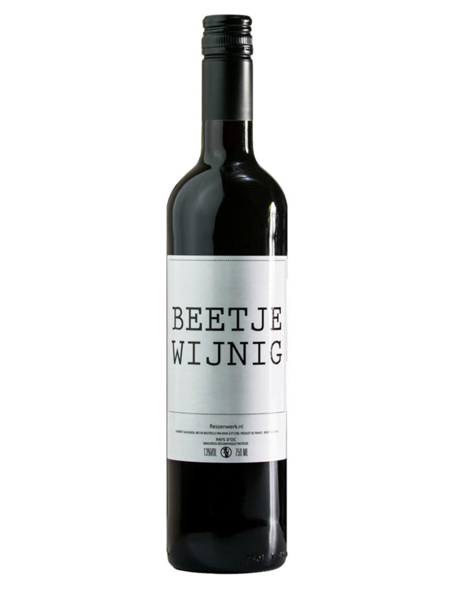 Flessenwerk Beetje wijnig wijn