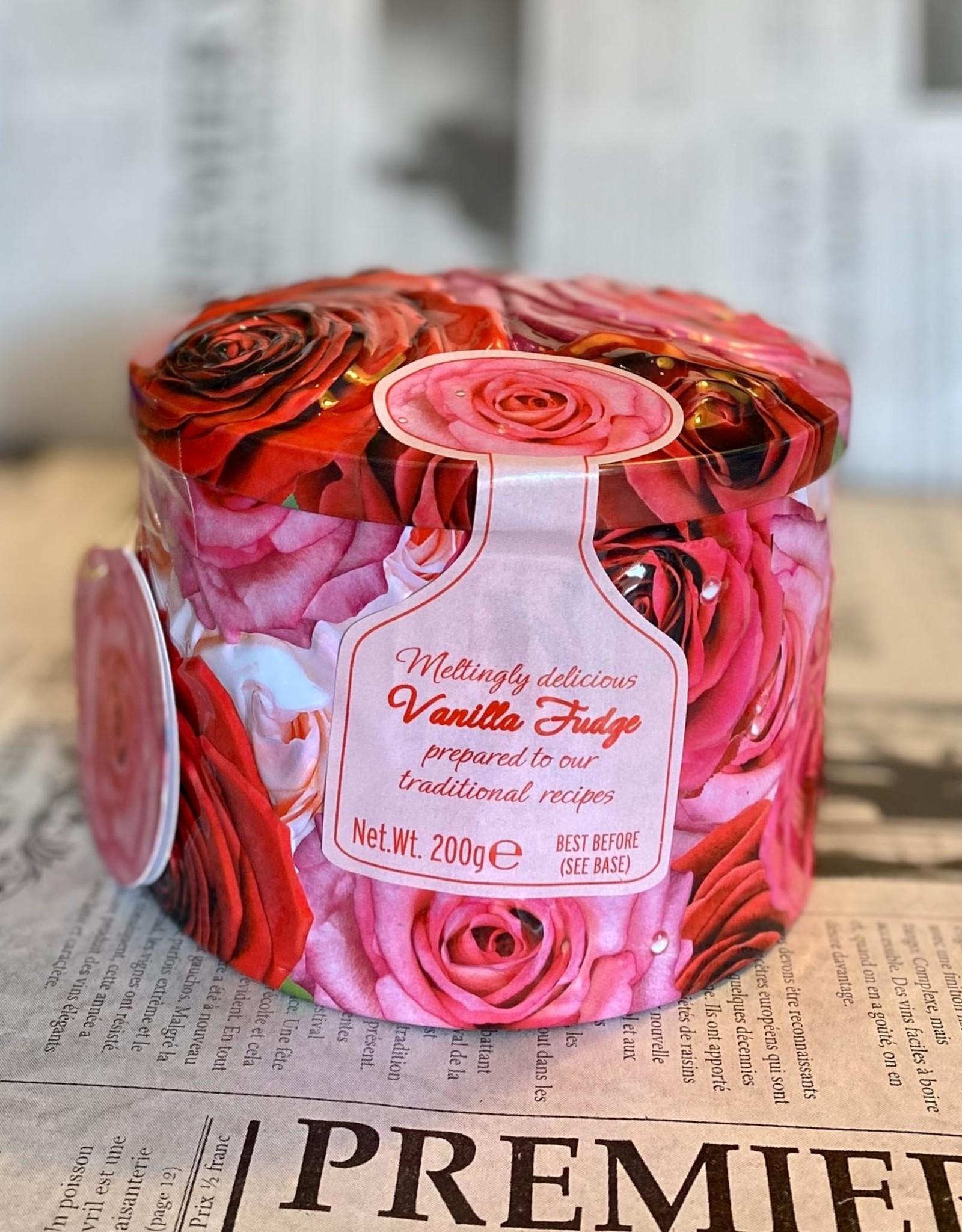 Roses tin vanilla fudge