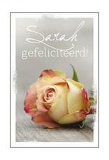 De geur van nostalgie Sarah gefeliciteerd geurzak
