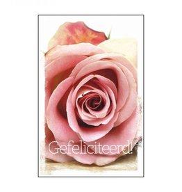 De geur van nostalgie Gefeliciteerd roos geurzak