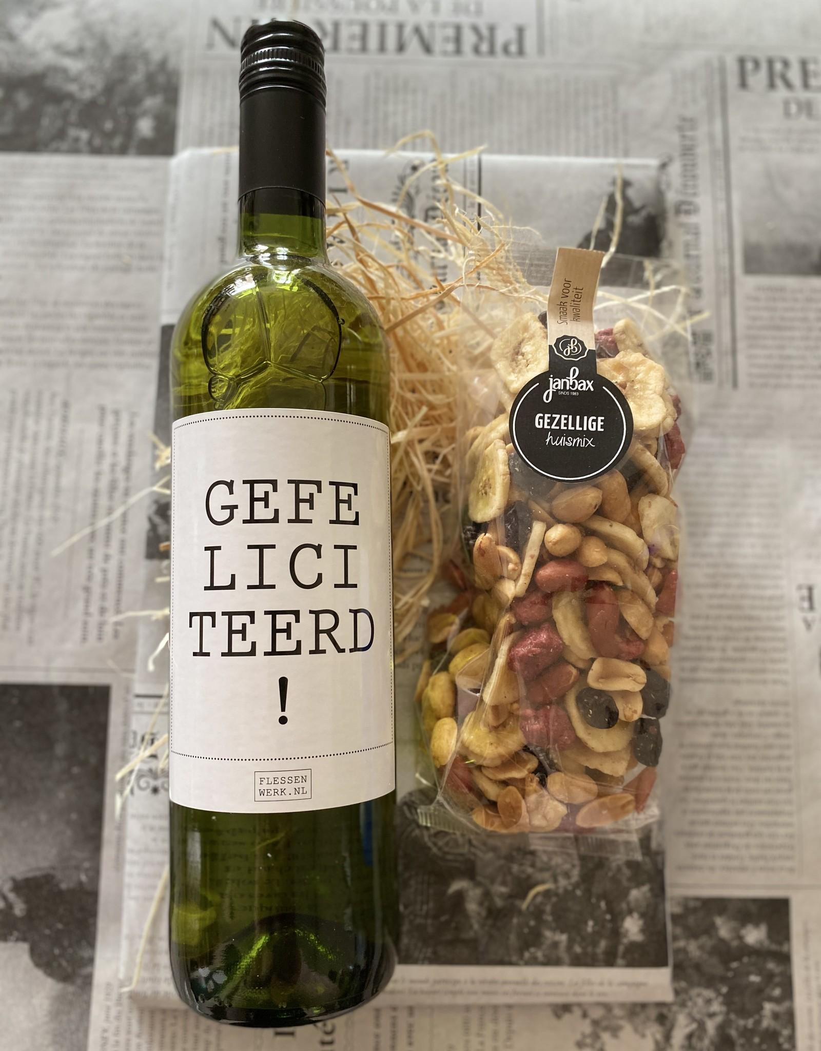 Wijnpakket gefeliciteerd