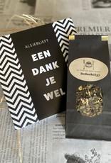 Thee en chcoladepakket Bedankt