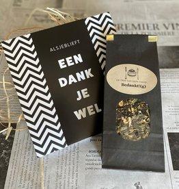 Thee en chocolade pakket Bedankt