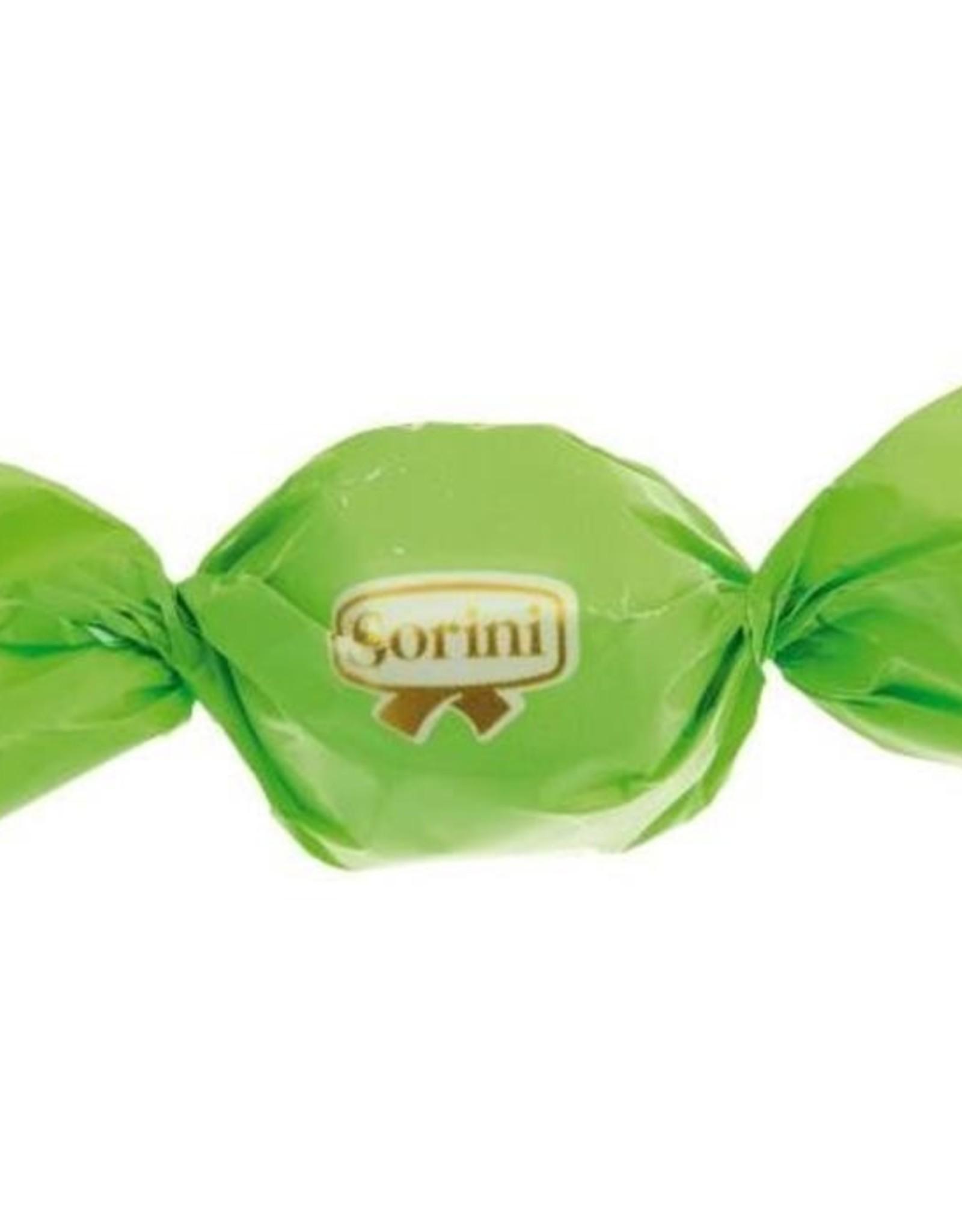 Chocoladebonbon Sorini groen