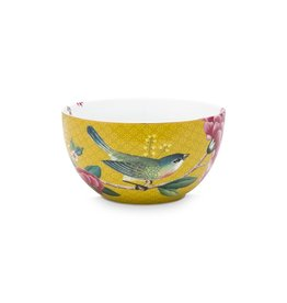 Pip Studio Bowl Blushing Birds Yellow