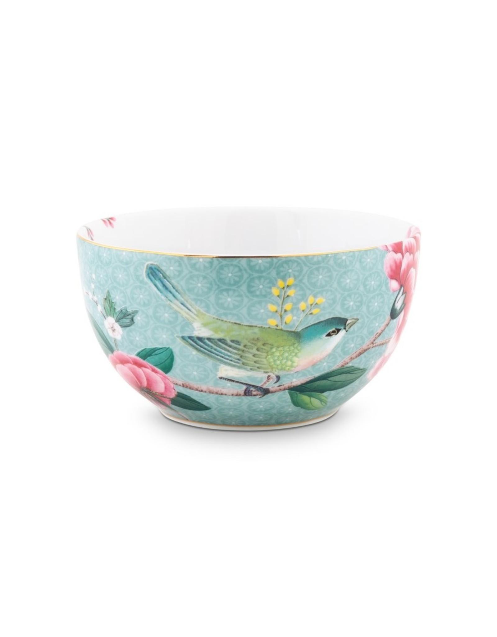 Bowl Blushing Birds Blue