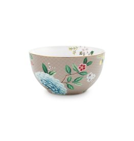 Pip Studio Bowl Blushing Birds khaki