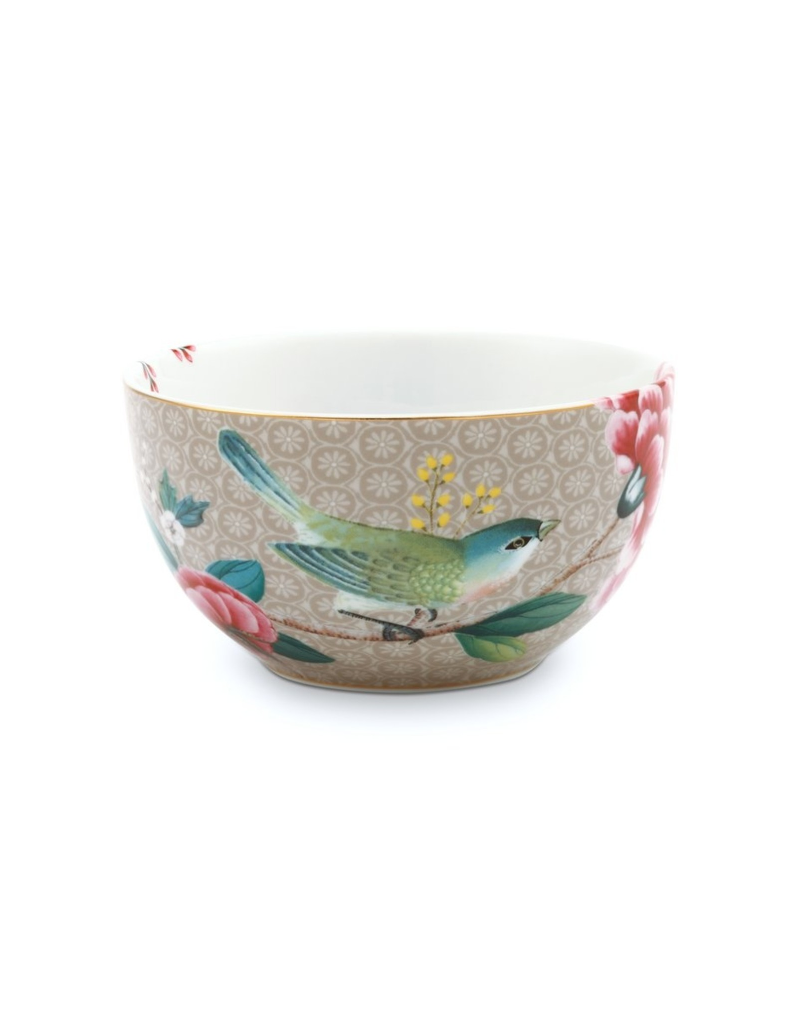 Bowl Blushing Birds khaki