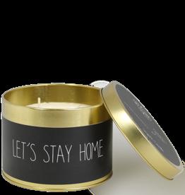 Geurkaars - Let's stay home