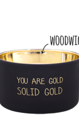 My Flame Lifestyle Geurkaars - YOU ARE GOLD - GEUR: WARM CASHMERE