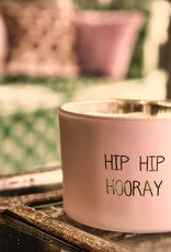 Geurkaars - HIP HIP HOORAY - Geur: GREEN TEA TIME