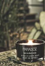 Geurkaars - PARADISE - Geur: WARM CASHMERE