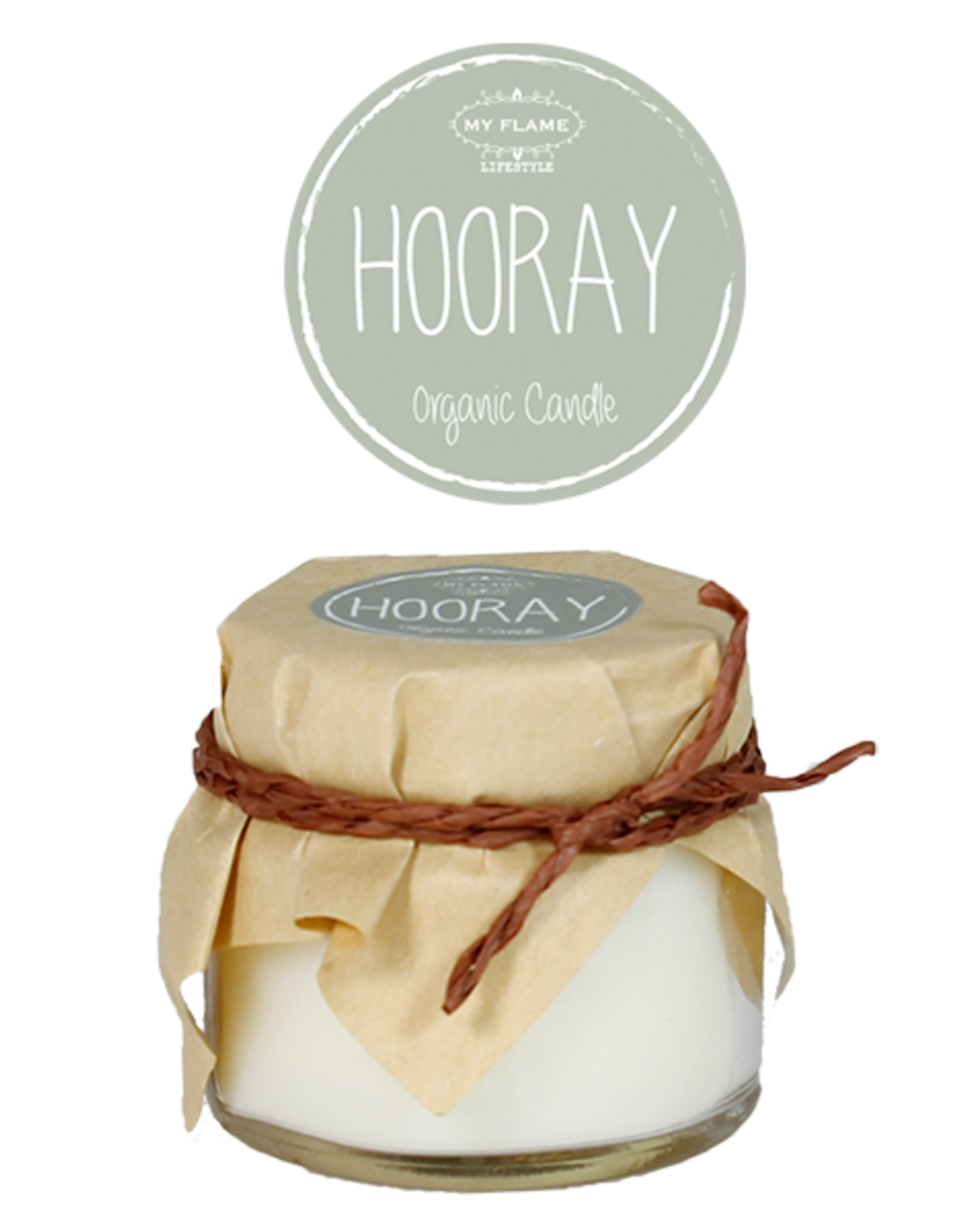 My Flame Lifestyle Sojakaars - HOORAY - Geur: MINT BAMBOO