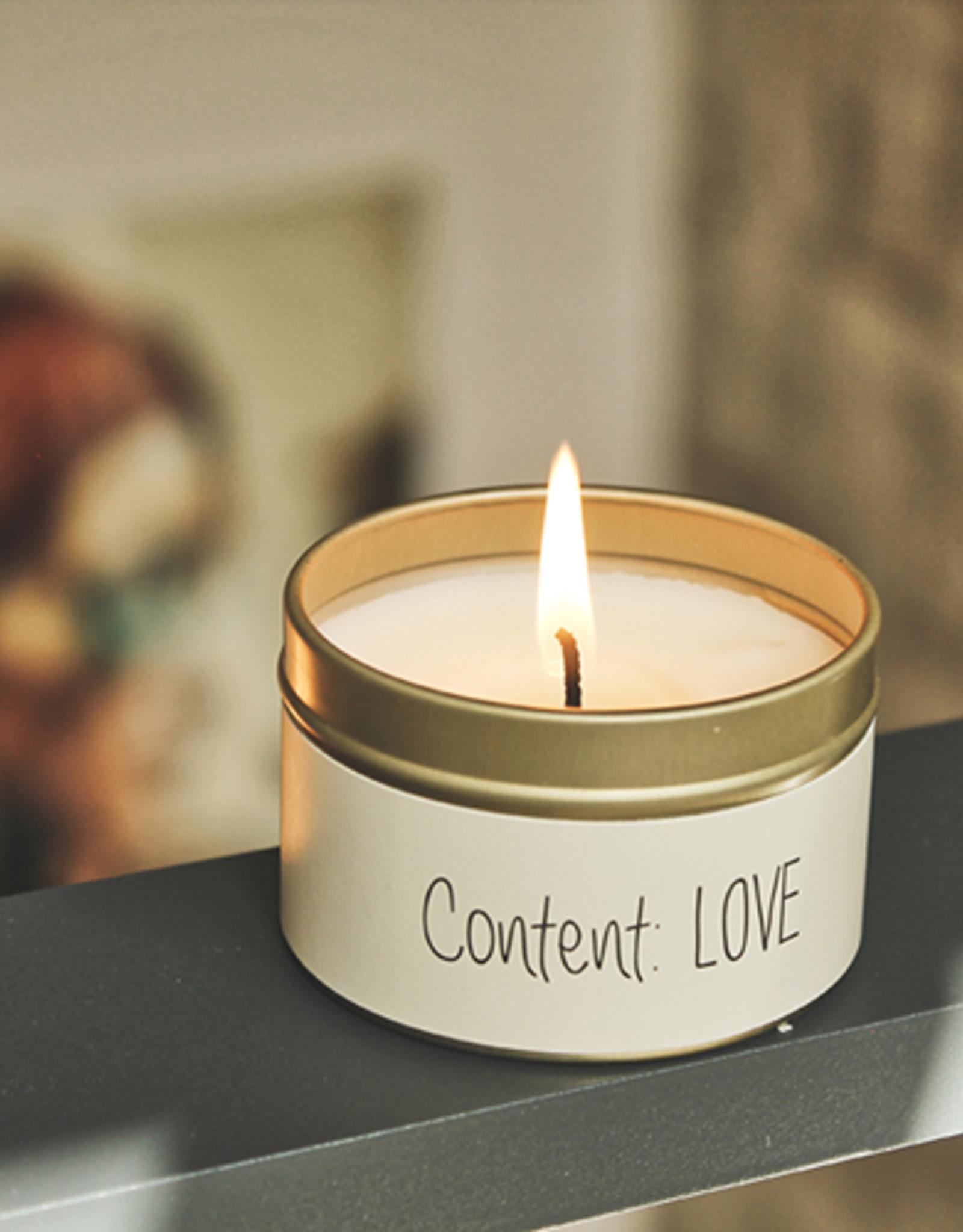 Sojakaars XS - CONTENT: LOVE - Geur: FRESH COTTON