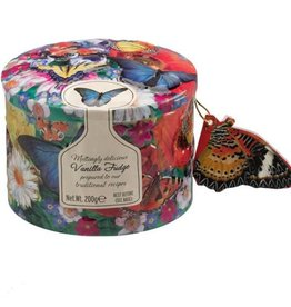 Gardiners fudge Butterfly/Hummingbird tin ass Fudge