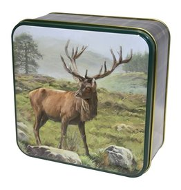 Grandma Wild's Embossed Stag Tin hert