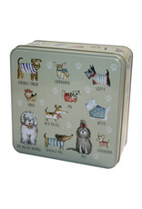 Grandma Wild's Hondenblik in relief gevuld met koekjes