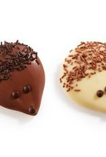 Egel chocolade wit/melk