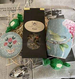 Verjaardagspakket thee, Pip Studio Blue en chocolade