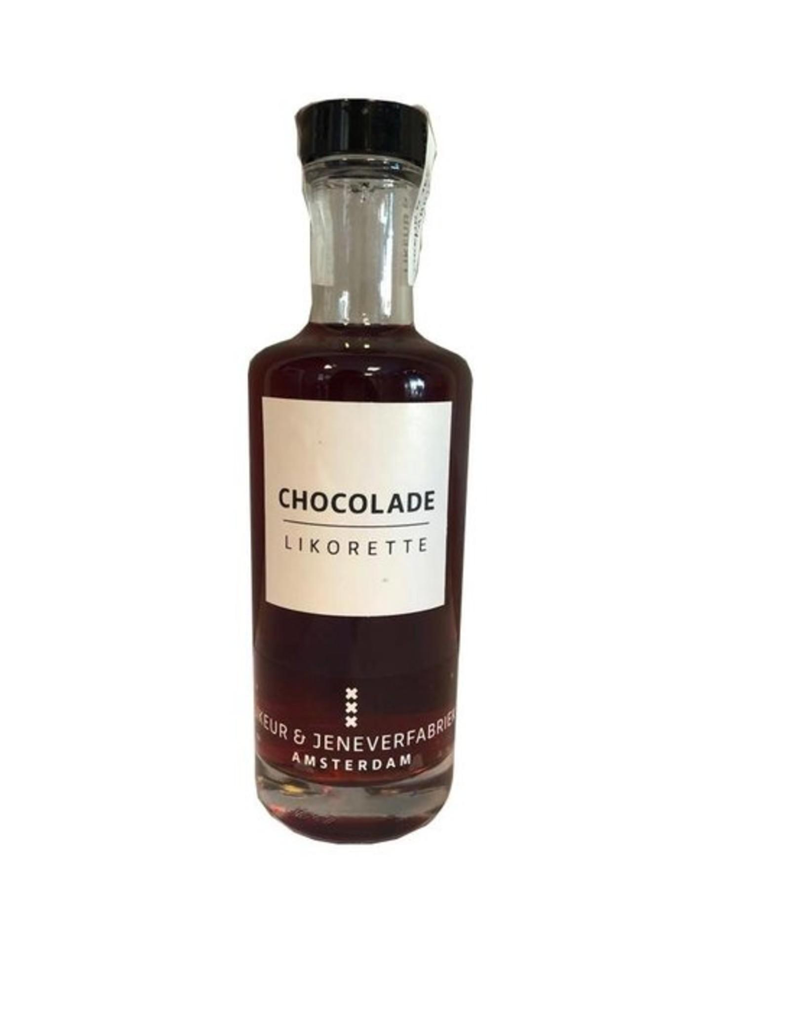 Likeur en jeneverfabriek Amsterdam Likorette Chocolade