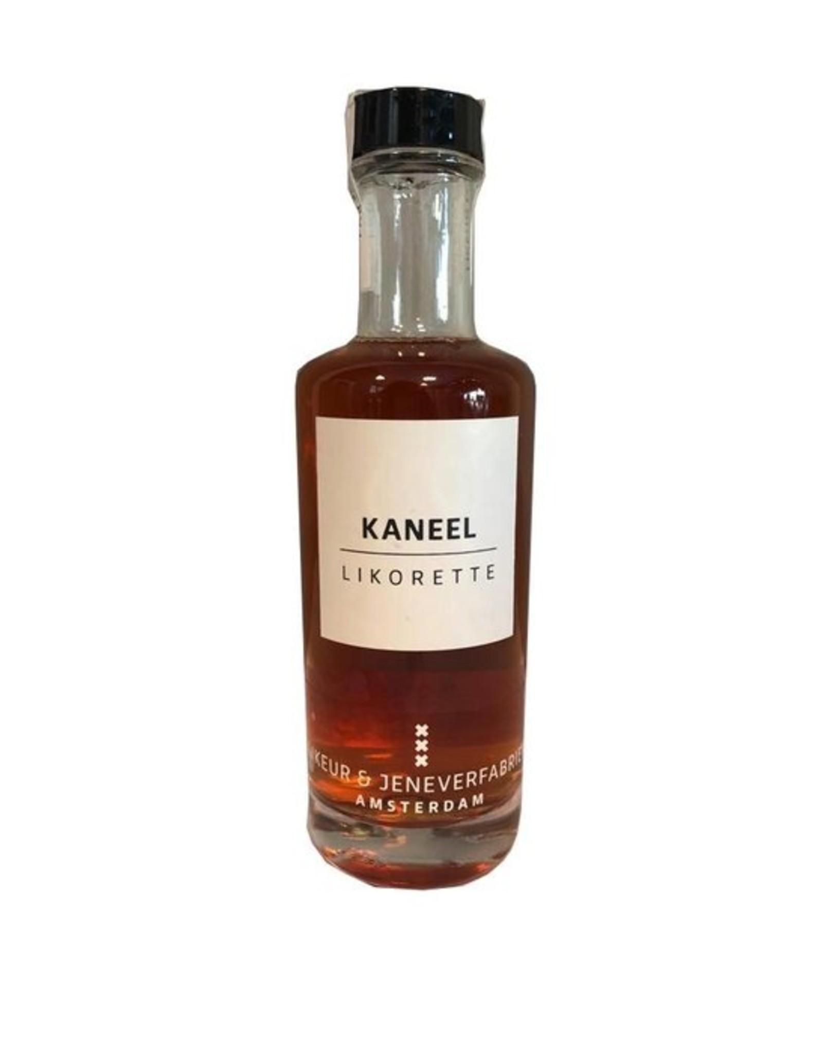 Likeur en jeneverfabriek Amsterdam Likorette Kaneel