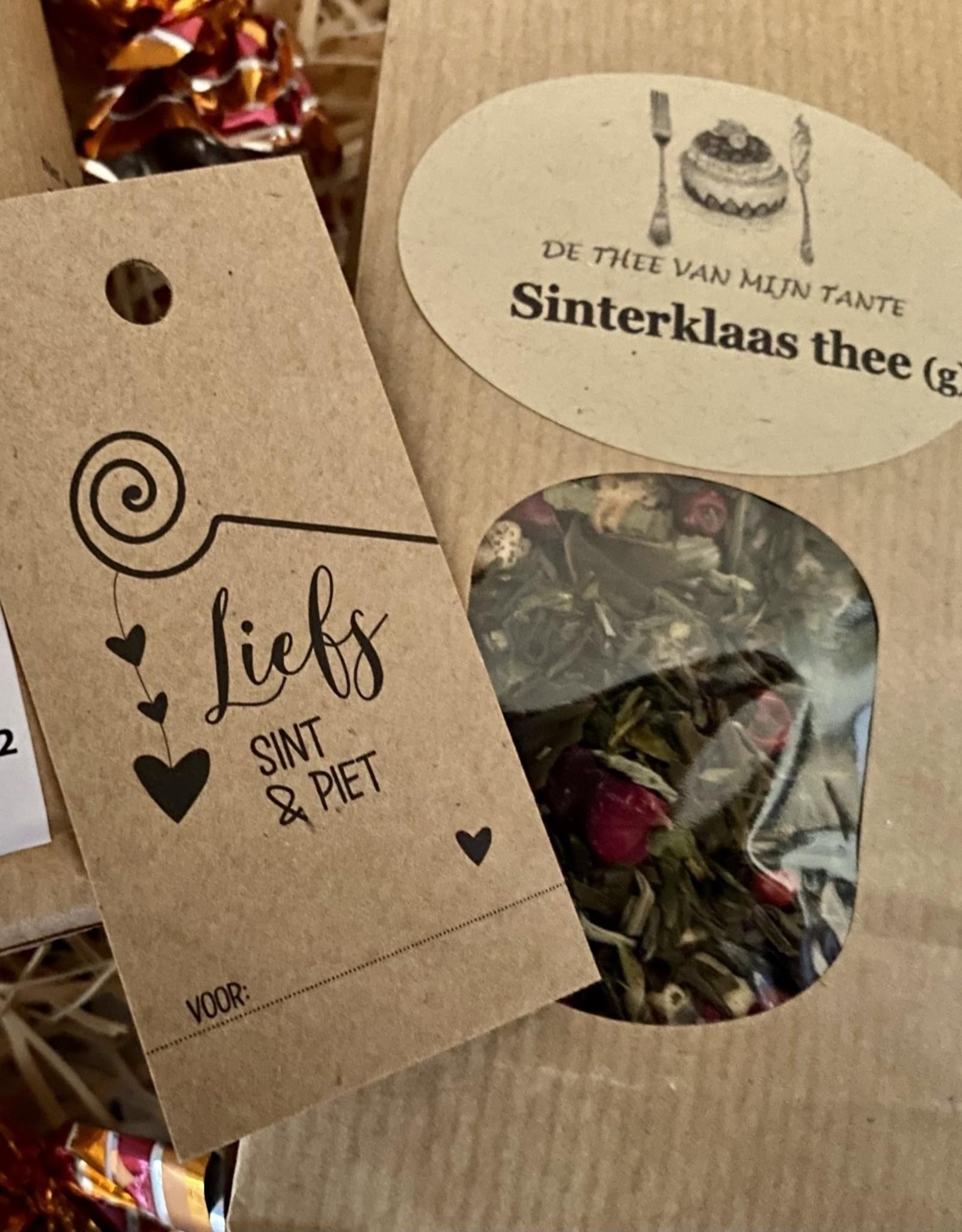 Sinterklaas pakket Thee en Lekkernijen