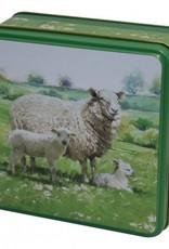 Koekjesblik met schaapjes