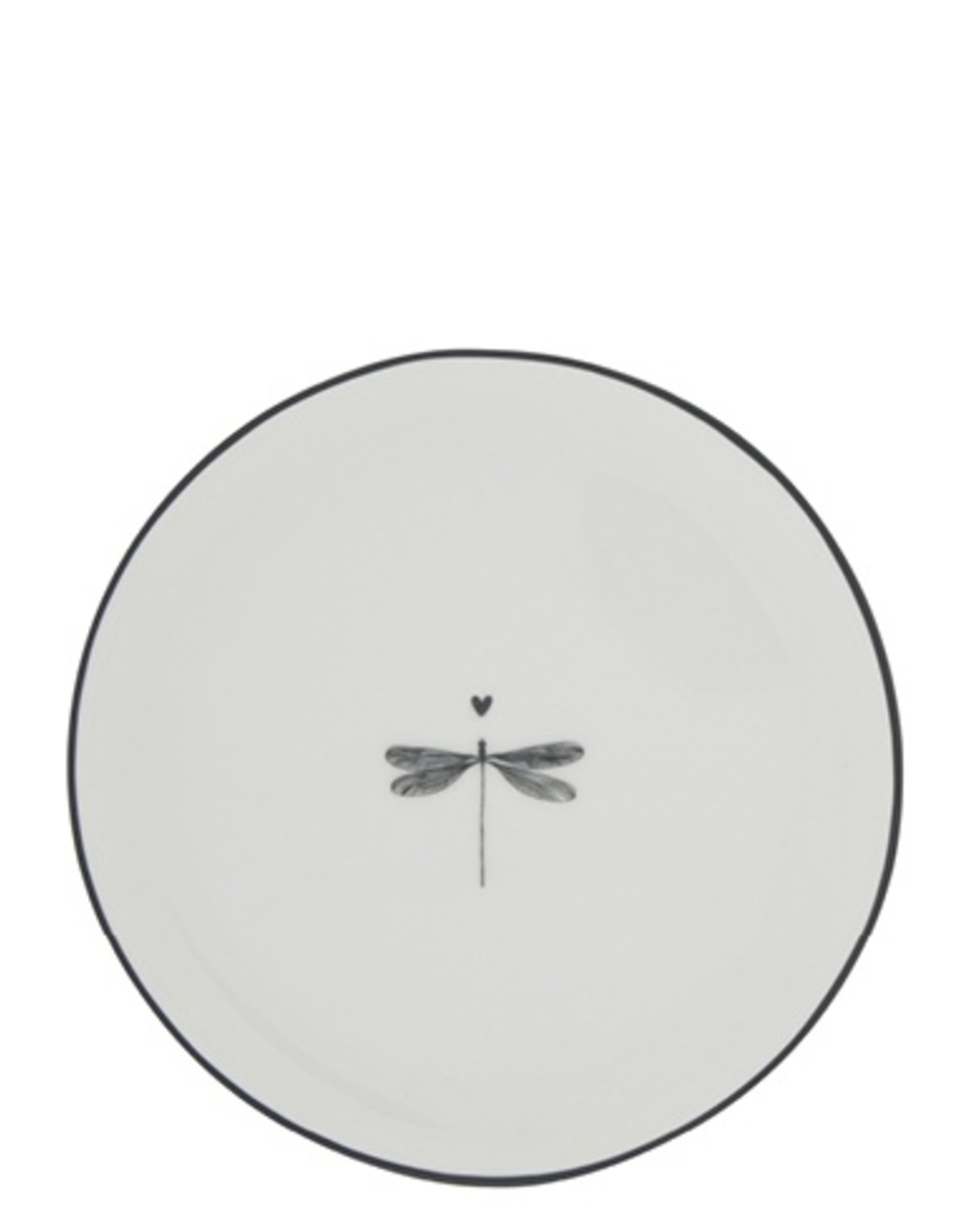 Bastion Collections Cake plate dragonfly