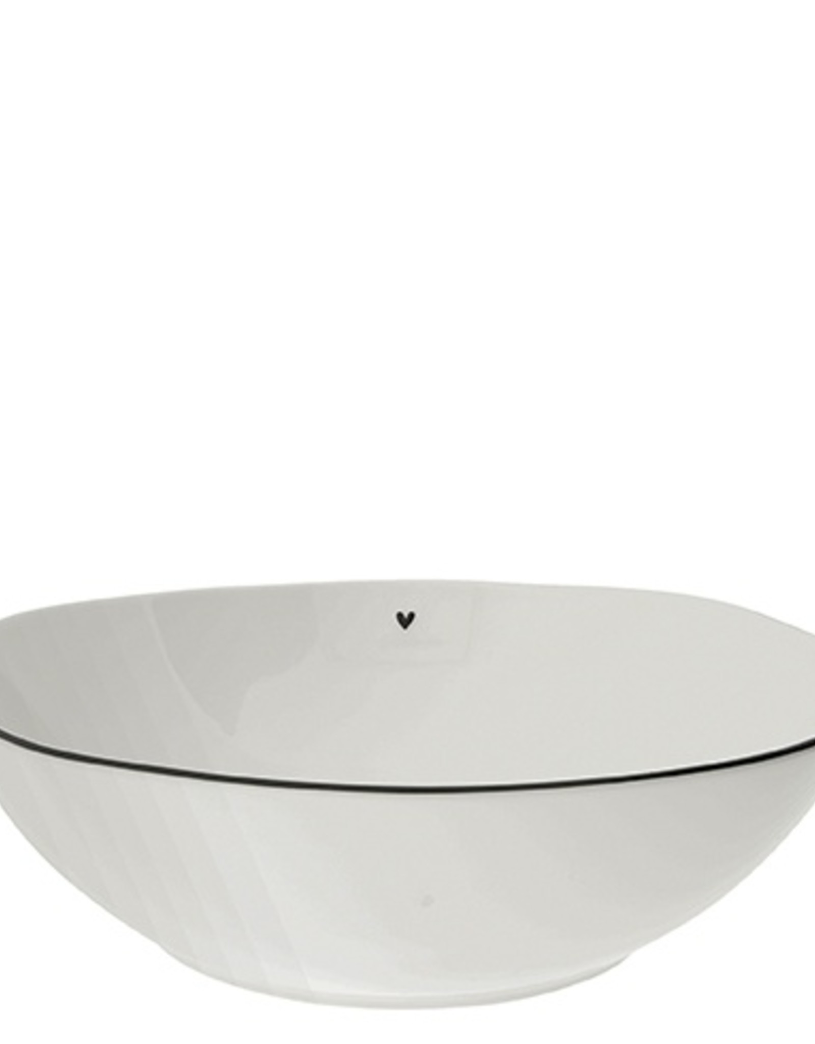 Bastion Collections Salad bowl heart