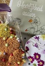 Cadeaupakket Bloemen en vlinders