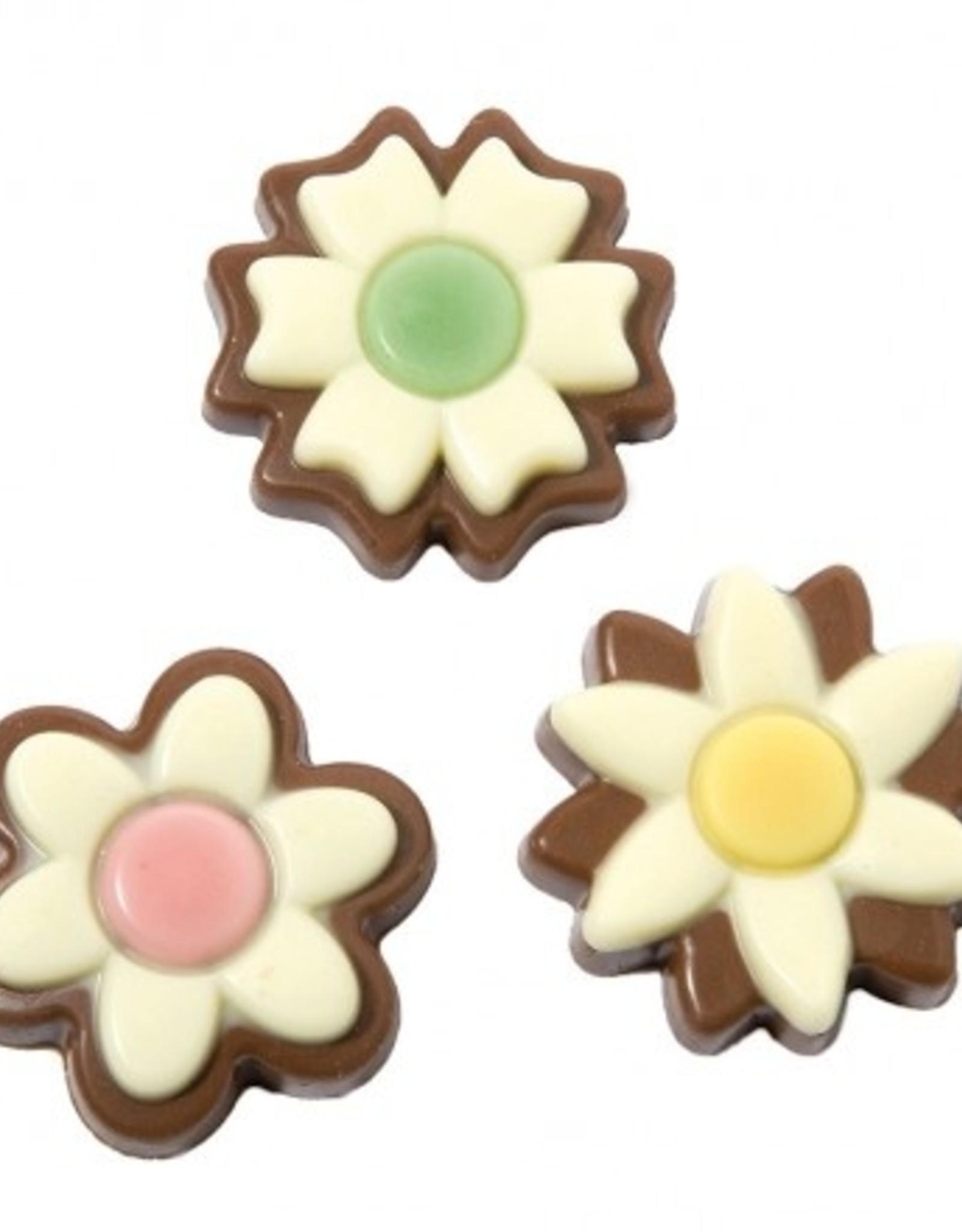 Bloemetjes chocolade