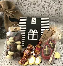 Sinterklaaspakket met chocoladewens