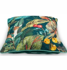 Cushion Foliage Blue 50x50cm