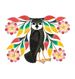 Cape Dorset Owl's Bouquet