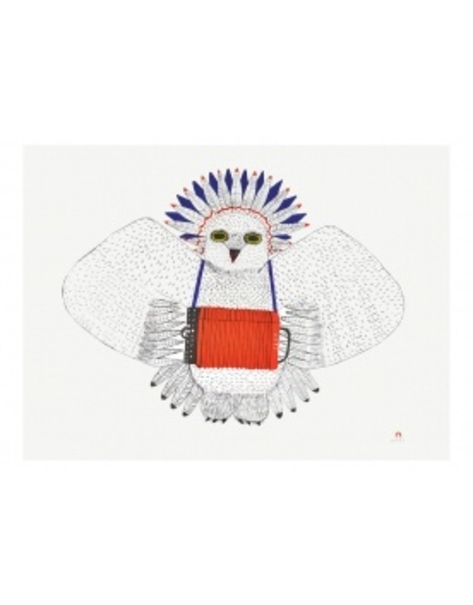 Cape Dorset Art Card: Bird Song