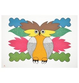 Cape Dorset Spirit of the Owl