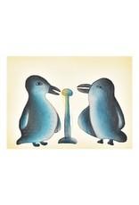 Cape Dorset Art Card: Song Birds