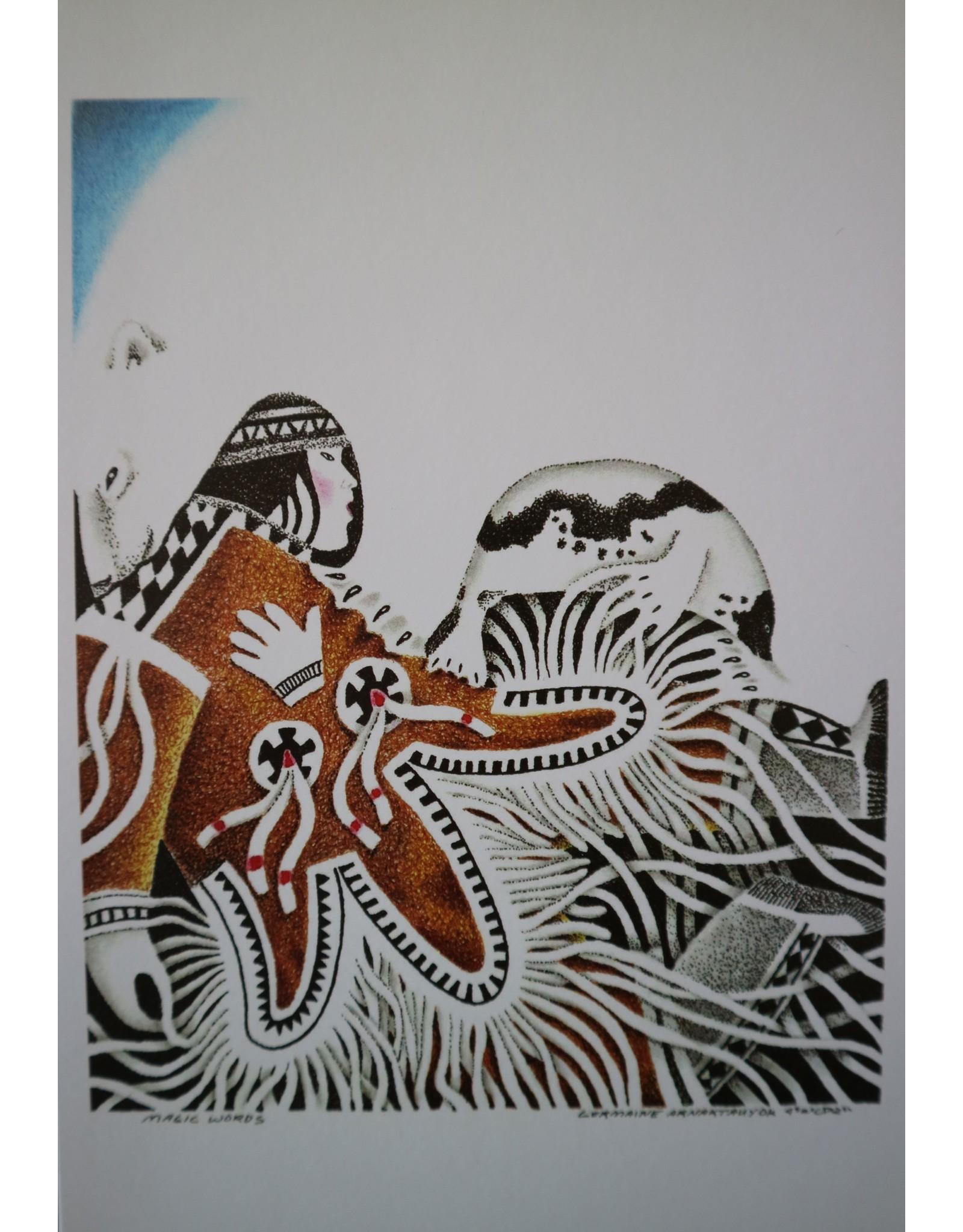 Igloolik Art Card: Magic Words