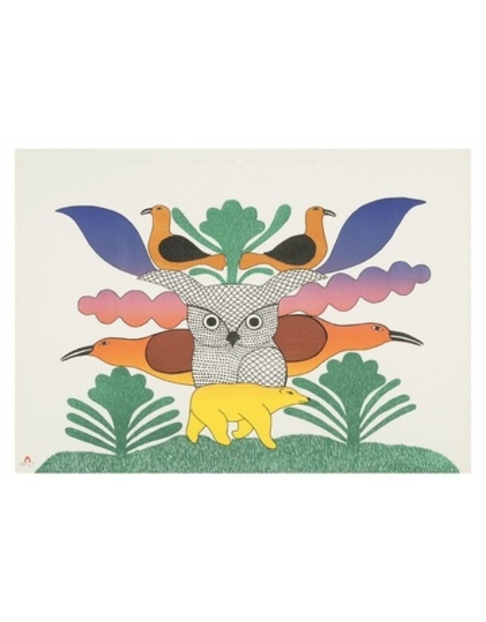 Cape Dorset Owl at the Centre