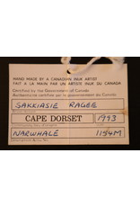 Cape Dorset Narwhale