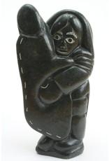 Akulivik Woman with Hide