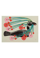 Cape Dorset Art Card: Courting Loon