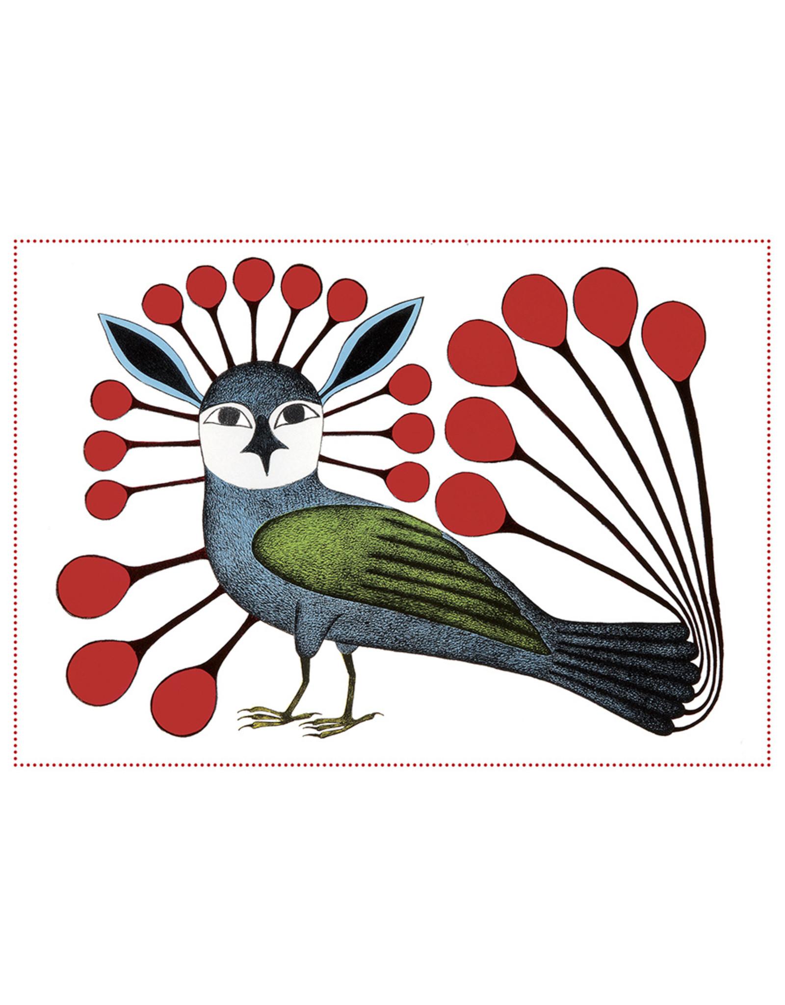 Cape Dorset Art Card: Vigilant Owl