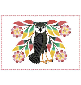 Cape Dorset Owl's Bouquet dots