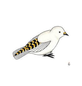 Cape Dorset Qupanuaq  (Snow Bunting)