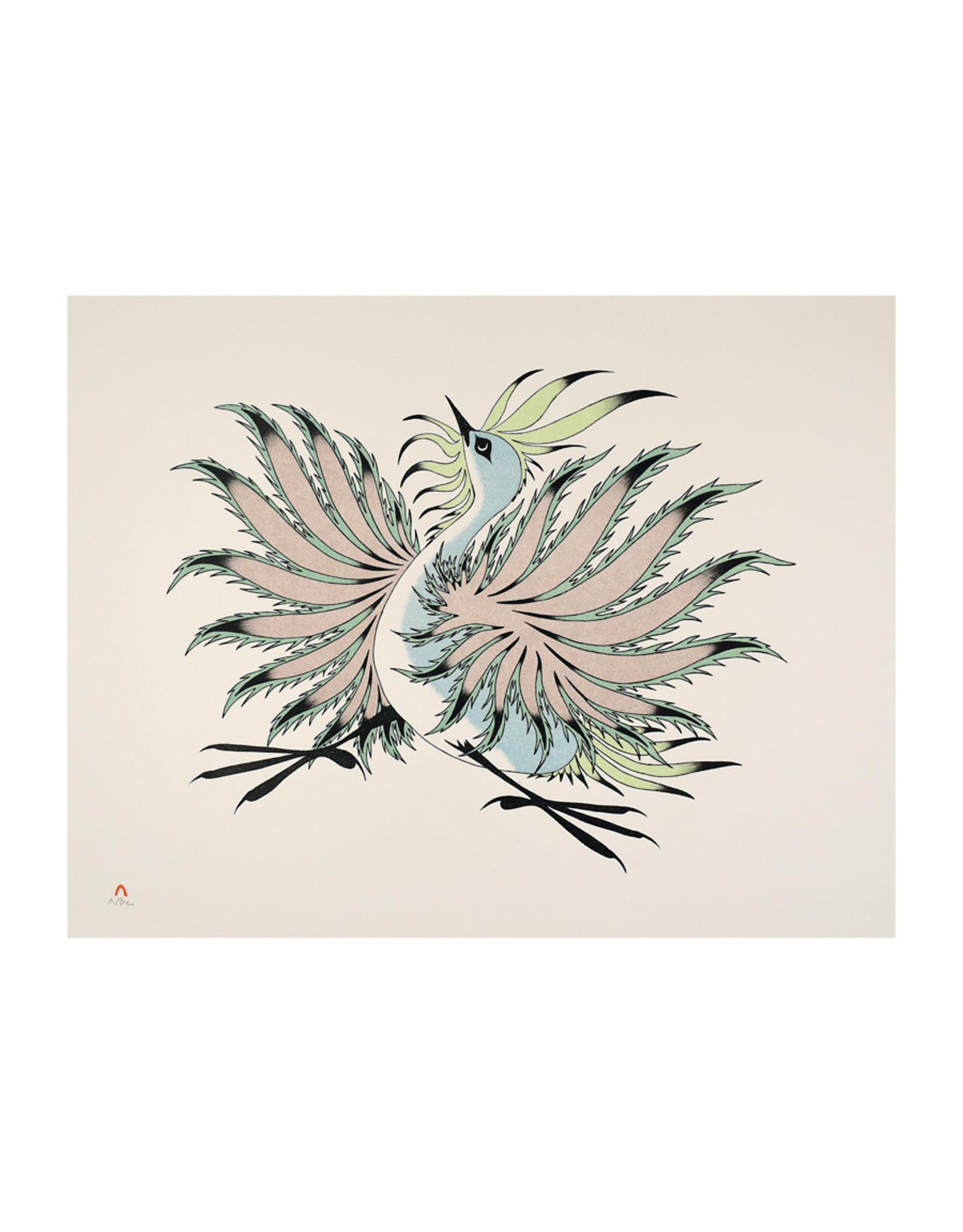 Cape Dorset Art Card: Dancing Bird