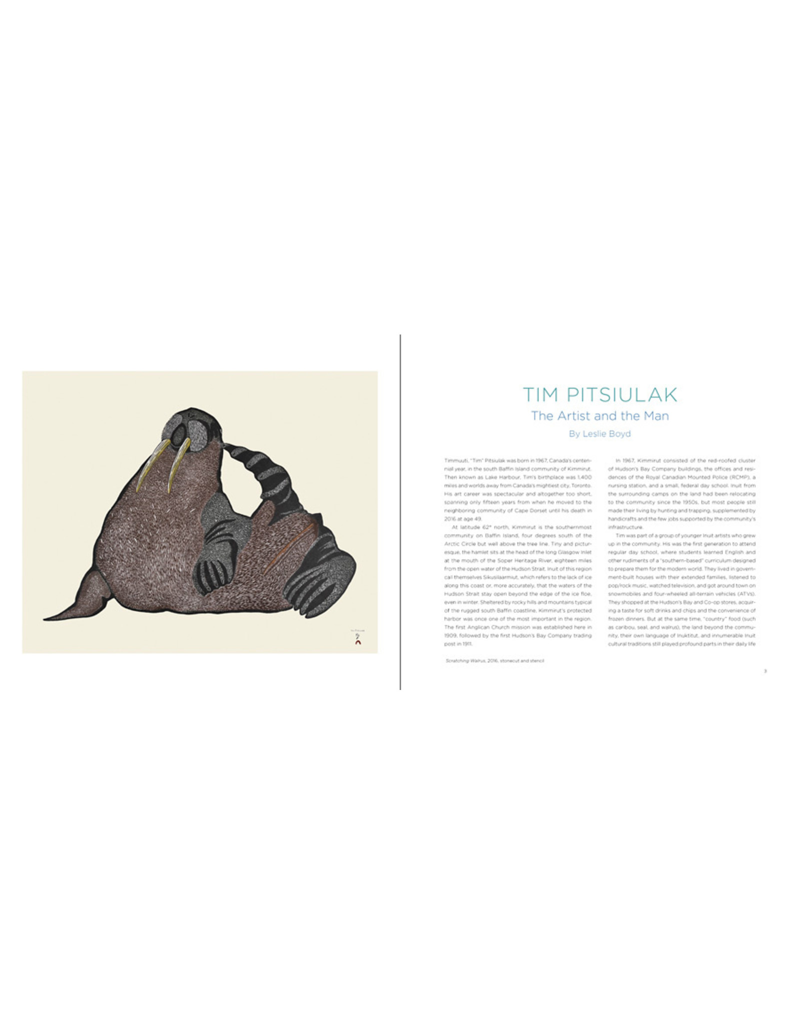 Cape Dorset Tim Pitsiulak: Drawings and prints from Cape Dorset