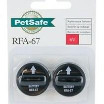 RFA-67D-11, 6V Lithium Batterij 2 per verpakking